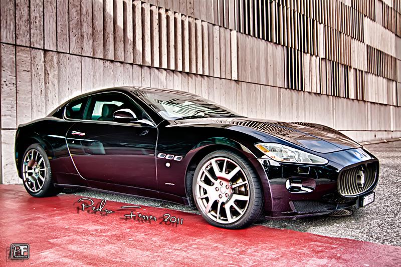 Suiza - Supercoches - Maserati GranTurismo S - Gran Casino de Lugano