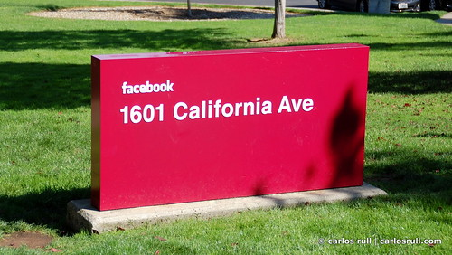 facebook headquarters, the sign