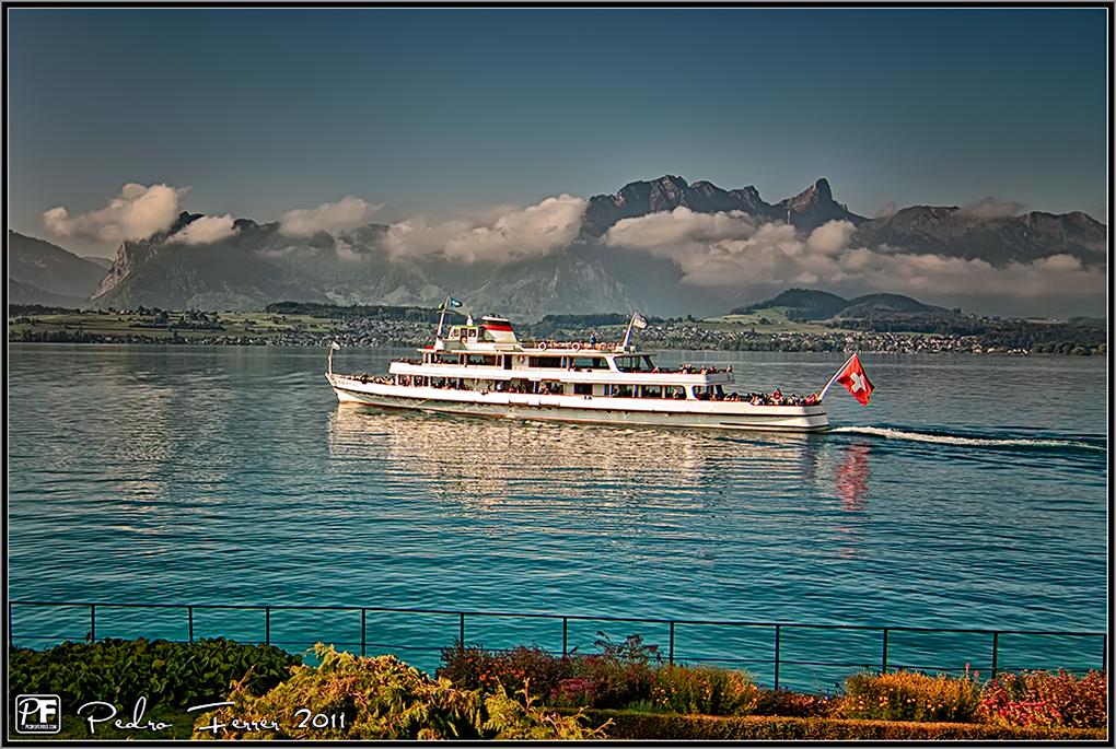 Suiza - Pueblos con encanto - Oberhofen - A orillas del lago Thun