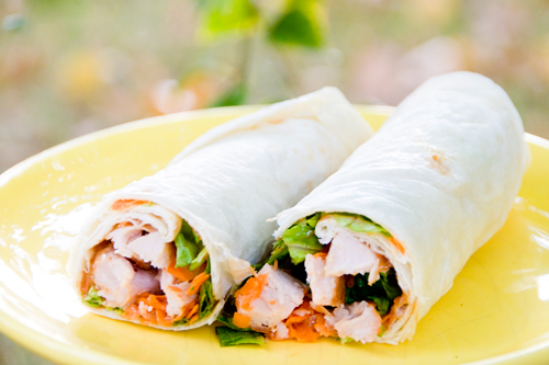 Asian Chicken Roll-ups - Betty Crocker The Big Red Cookbook Giveaway