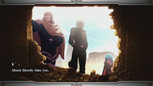 The King of Fighters XIII para PS3: Story Mode