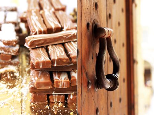Una città color cioccolato