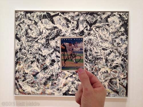 1953 Jackson Pollock and 1993 Chuck McElroy