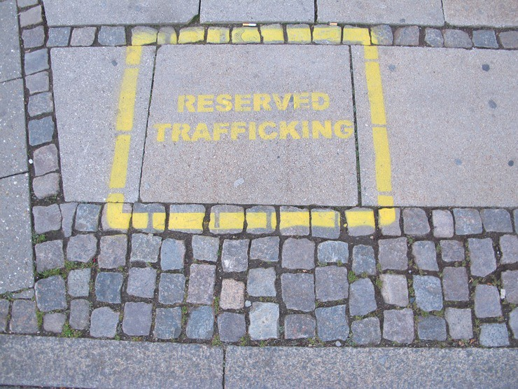 Reserved for trafficking
