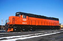 B&LE 907 Rebuilders Photo (Missabe Road) Tags: proctor ble 907 dmir emd tunnelmotor sd40t3