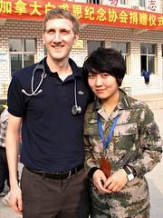A nice couple... (deanspic) Tags: china rural chinese patient medical medicine clinic examination consultation medicalconsultation ruralclinic niuyangouvillage tangcounty bethunetour