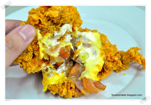 The Food Alphabet: KFC ZINGER DOUBLE DOWN is gonna rock your world!!