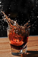 Splash (jnthomasphotography) Tags: texture ice speed high coke cube 28 splash icecube highspeed 2470mm d700