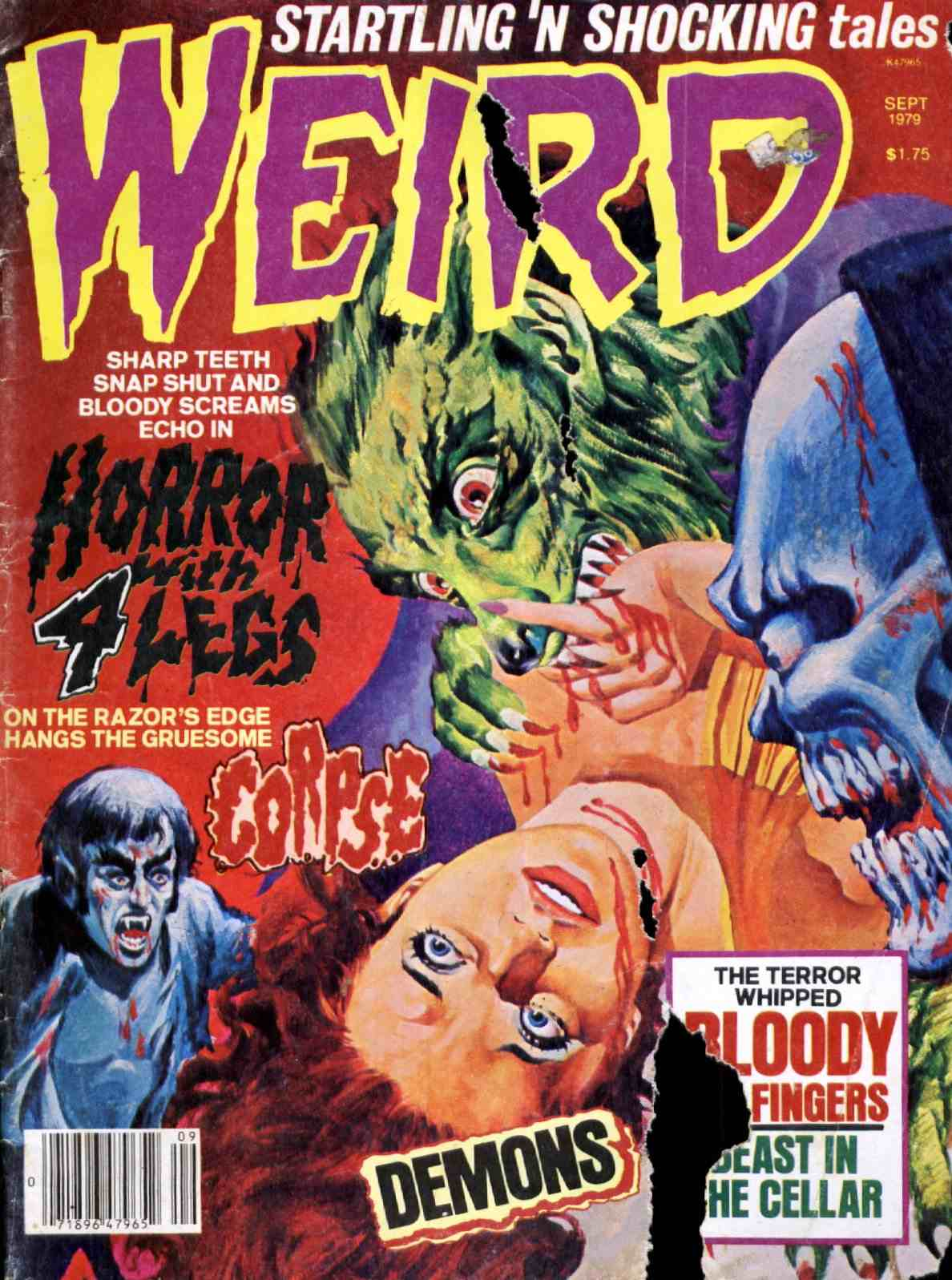 Weird Vol. 08 #2 (Eerie Publications, 1974)