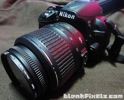My Nikon D3100 DSLR camera