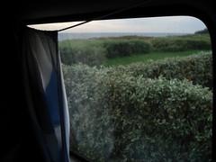 ausblicke (LOTTE BLOCK) Tags: sea summer holiday bus island sommer curtain balticsea insel outlook rgen ostsee autumnal ausblick vorhang 2011 herbstlich
