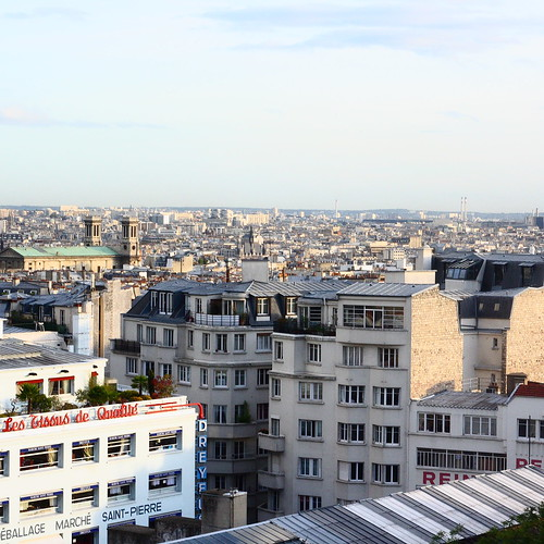 Paris, view from Montmartre