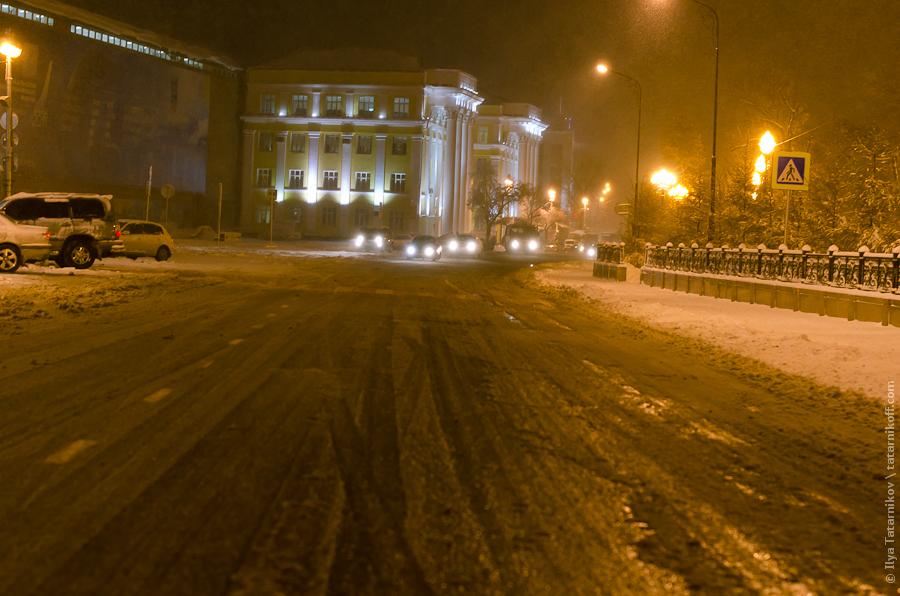Заснеженные улицы