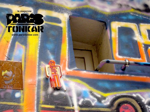 Collage de Tarek // Man at work #4/111 // Lyon, 2011 by Pegasus & Co