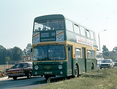 AN58 Watford Area Dated Sept 1973 (national_bus_510) Tags: nbc parkroyal nationalbuscompany leylandatlantean londoncountrybusservices lcbs pdr1a1special