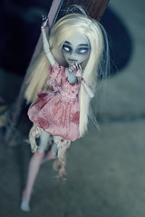 Yummy... (Hiritai) Tags: monster george high dolls zombie custom repaint repainted yelps ghulia