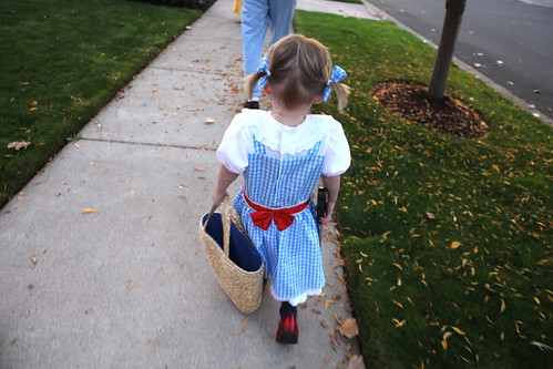 Dorothy on her way