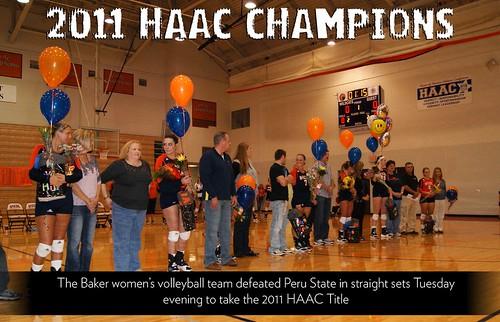 2011 HAAC VB Champs!