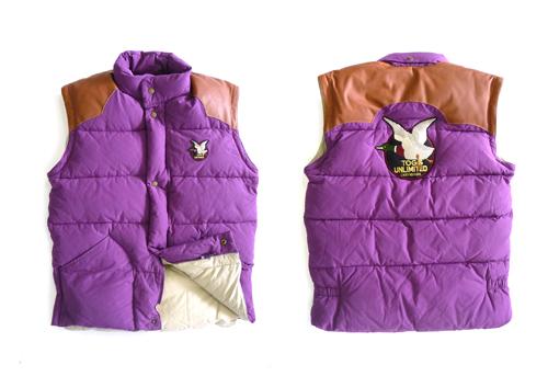 doudoune violette