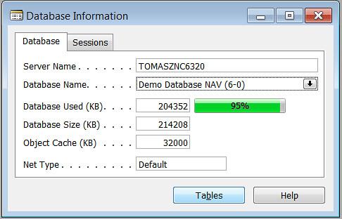 Company Size - Database Information