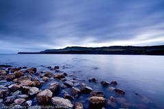 Kimmeridge Bay (TDR Photographic) Tags: uk light sunset sea england sky blur water clouds canon landscape evening coast movement dusk atmosphere dorset kimmeridge nightfall jurassiccoast eos5d dorsetcoastpath