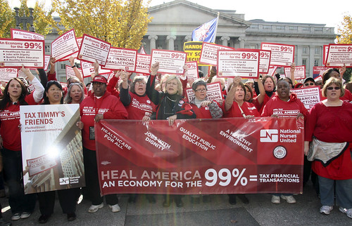 Nurses call for Financial Transaction Tax