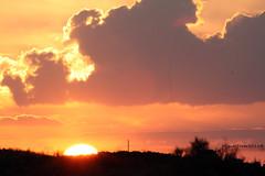 Sunset. (Miguel Tovar Bazaga) Tags: autumn light sky espaa luz sol spain colores amarillo cielo nubes otoo ocaso trujillo extremadura migueltovar2011