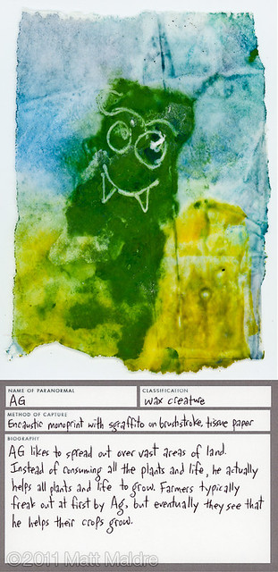 Wax creature 5: Ag