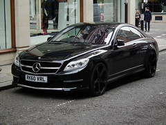 Mercedes CL65 AMG (kenjonbro) Tags: uk black london mercedesbenz automatic coupe coup amg v12 60l biturbo 2011 cl65 worldcars c216 kenjonbro fujihs10 rk60vrl