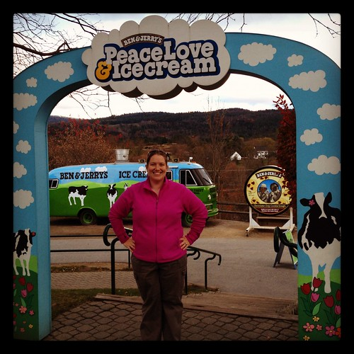 Ben & Jerry's Factory tour!