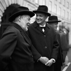 Three wise men (ted.kozak) Tags: street bw men london 6x6 film vintage mediumformat three regentstreet rodinal timeless selfdeveloped kozak bronicasqa adoxchs100 zenzanonps80mmf28 tedkozak tadaskazakevicius tadaskazakeviciusportfolio