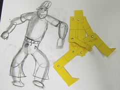 body proportion and figure drawing (maureencrosbie) Tags: movement proportion figures childrensdrawing wwwmrscrosbieblogspotcom
