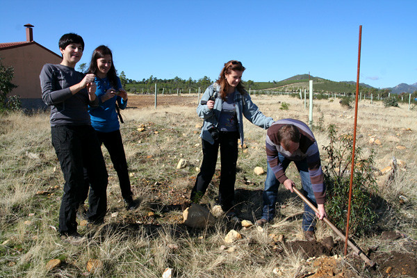 6323876222 6951d0959a z Planting trees in Cañamero with the Tree Lovers Project