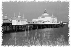 """Back and White Pier • <a style=""""font-size:0.8em;"""" href=""""http://www.flickr.com/photos/59278968@N07/6325441435/"""" target=""""_blank"""">View on Flickr</a>"""