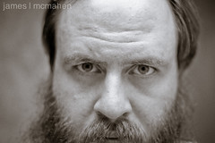 Self. September 2011. (James McMahen) Tags: portrait bw self canon f14 14 sigma 30mm 550d t2i