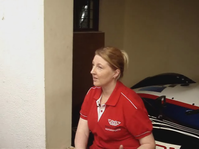 Lex Akehurst - Head of Operations of Machdar Motorsports speaks to the media about i1 Super Series and the Radical SR3 supercar!