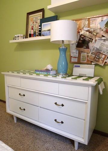 White Dresser Done