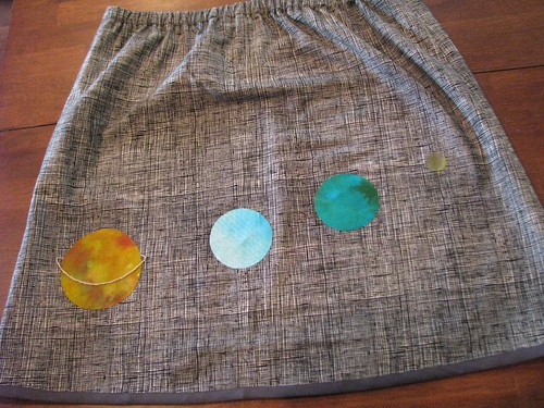 Fabric of the Cosmos Skirt - Back