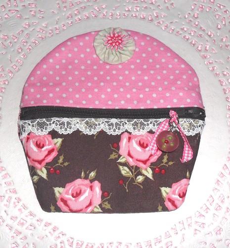 Porta Moedas Cupcake by Fuxiquices-da-isa