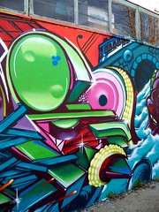 E (COLOR IMPOSIBLE CREW) Tags: chile graffiti concurso zade quilpue 2011 fros ironlak