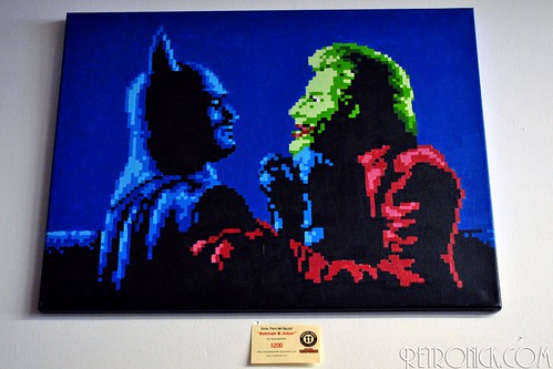 Hand Painted Pixel art