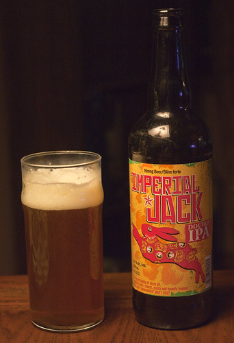 Review: Minhas Creek Imperial Jack Double IPA by Cody La Bière