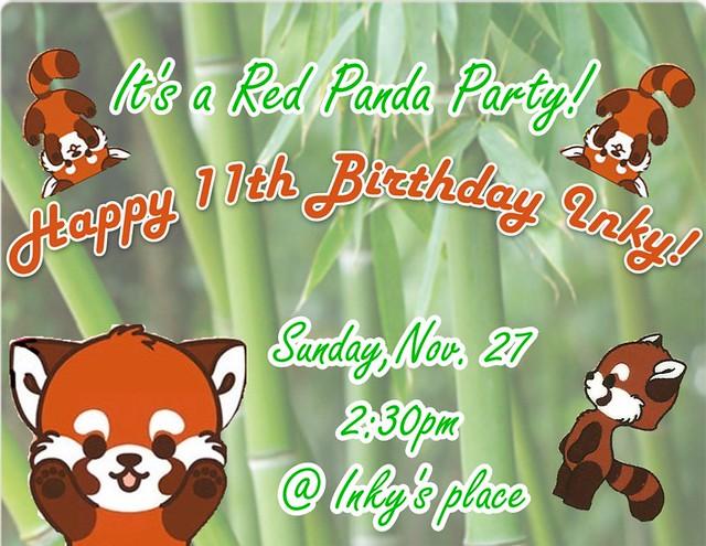 2011 party invite