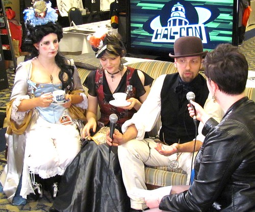 Steampunk 101 with the Jules Verne Phantastical Society at Hal-Con 2011