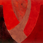 "<b>Canyon De Chelly, Study No. II</b><br/> Hampton (LC '80) (Gouache on paper, 2007)<a href=""//farm7.static.flickr.com/6211/6351038222_a3435c754d_o.jpg"" title=""High res"">∝</a>"