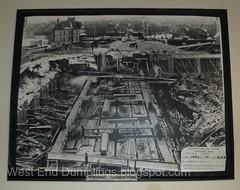 Construction photos, engineer's room, sub basement 3