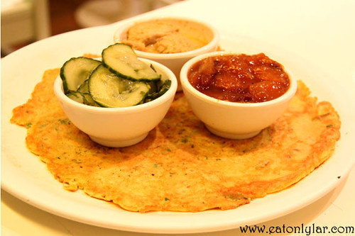 Indian style pancake with chickpea pancake, Pancakes! Amsterdam