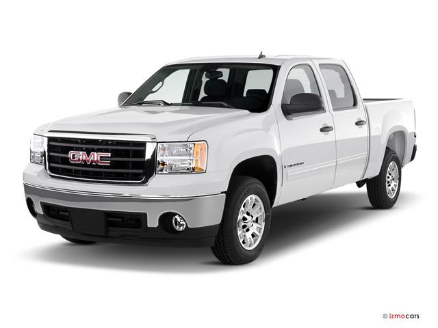 sanfrancisco california usa truck bed pickup 2wd truckbed 4dr 4door front34 fourdoor frontthreequarterview frontthreequarter front34view twowheeldrive 2007gmcsierra1500crewcabsle2