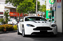 Advantageous *Explored* (Tom | Fraser) Tags: light white car photography cool nice martin australia melbourne richmond aus rs aston vantage v12 melb gtspirit zisis v12advantage wellswheels