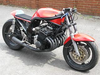 Homemade Suzuki 500/8 motorcycle